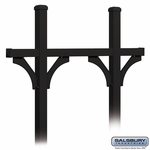 Deluxe Bridge Style Posts for (5) Mailboxes