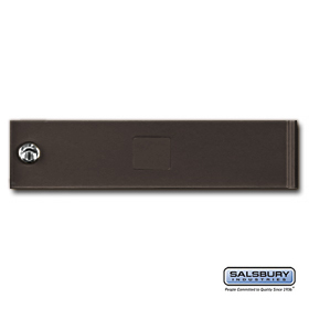 Salsbury 3751Z Bronze Standard Replacement Door 4C Horizontal Mailboxes