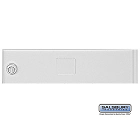 Salsbury 3351GRY Door Gray Standard A Size Replacement For Cluster Box Unit With (3) Keys