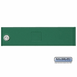 Salsbury 3351GRN Door Green Standard A Size Replacement For Cluster Box Unit With (3) Keys