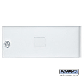 Salsbury 3352WHT Door White Standard B Size Replacement For Cluster Box Unit With (3) Keys