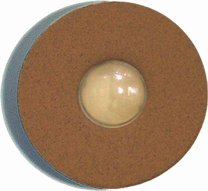 Doorbell Button True Rust -Special Order