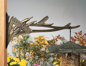 Whitehall Dragonfly Nature Hook - Oil Rub Bronze