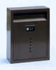 Ecco E10 Bronze Galvanized Steel Wall Mailbox