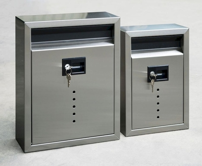 Ecco E9 / E10 Modern Wall Mailbox - Choose Size & Color