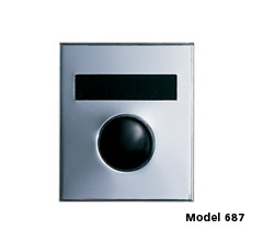 Economy Door Chime with Name Plate