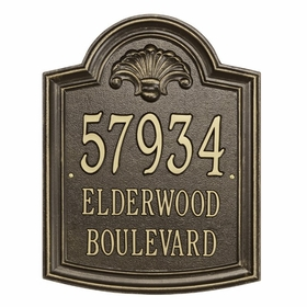 Elderwood - Estate Three Line Wall Plaque