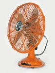 Electric Fan-Orange-Small-1 speed-Non oscillating