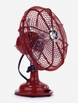 Electric Fan-Watermelon Red-Large-3 speed-oscillating
