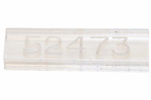Engraved 'Vision Window' - Clear Plastic Cover Engraved
