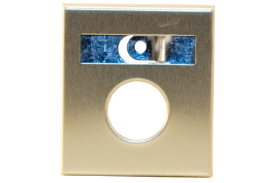 Escutcheon - Anodized Gold