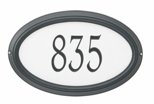 Reflective Address Plaques