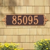 Estate Size Lyon Horizontal Wall or Lawn Plaque - (1 or 2 Lines)