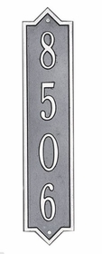 Standard Size Norfolk Vertical Wall Plaque - (1 Line)