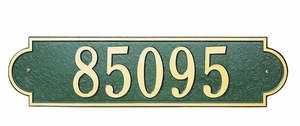 Lawn Address Plaques