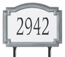 Estate Size Williamsburg Reflective Wall or Lawn Traffic Sign - (1 Line)