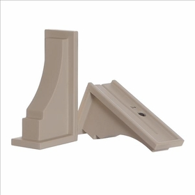 Fairfield Decorative Supports Clay (2pk)