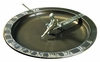 Whitehall Fisherboy Sundial Birdbath - French Bronze