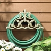 Whitehall Fleur-De-Lis Hose Holder - French Bronze