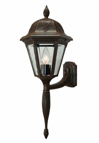 Floral Small Bottom Mount Wall Bracket-Long Tail Lighting Fixture