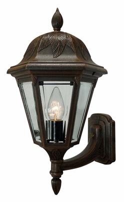Floral Small Bottom Mount Wall Bracket-Short Tail Lighting Fixture