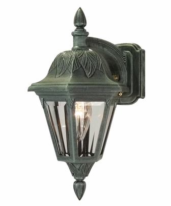 Floral Small Top Mount Wall Bracket Lighting Fixture