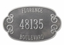 Florence Wall Plaque - (2 or 3 Lines ONLY)
