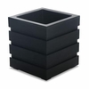 Freeport Patio Planter 18 x 18 - Black