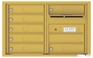 Front Loading 4C Commercial Mailbox with 7 Tenant Doors