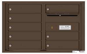 Rear Loading 4C Commercial Mailbox with 8 Tenant Doors
