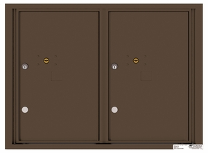 Rear Loading Commercial Extra-Large Parcel Lockers
