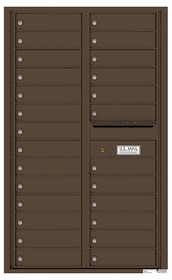 Rear Loading Commercial Mailbox - 26 Tenant Doors - Double Column