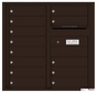 Front Loading Commercial Mailbox with 13 Tenant Compartments