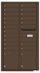 Rear Loading Wall Mount 4C Mailboxes