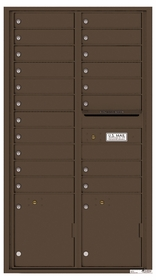 4C Rear Loading Horizontal Mailboxes 19 or More Doors