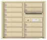 Front Loading Double Column Commercial Mailbox with 12 Tenant Doors