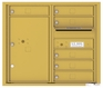 Front Loading Double Column Commercial Mailbox with 6 Tenant Doors and 1 Parcel Locker