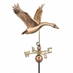 Goose Weathervane - Polished Copper