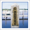 """Grande Size 18"""" Lighthouse Vertical Wall Plaque - (1 Line)"""