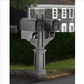 Rockport Double Mailbox Post Granite