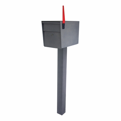 Granite Ultimate High Security Locking Single Mailbox & Post Package