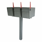 Mailboss High Security Triple Mailbox & Post Package (Small Packages)