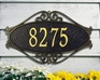 Hackley Fretwork - Standard Wall Plaque - One Line