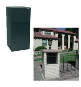 rear access parcel mailboxes - Locking Mailboxes