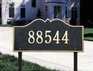 Hillsboro - One Line - Estate Lawn Address Sign