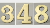 2 Inch Brass Numbers