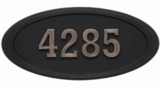 Housemark Oval Address Plaques - Large
