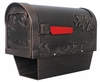 Humingbird Curbside Mailbox with Newspaper Tube