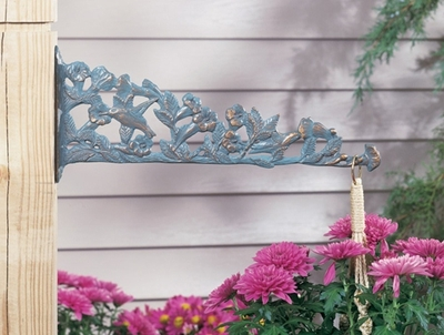 Whitehall Hummingbird Nature Hook - French Bronze