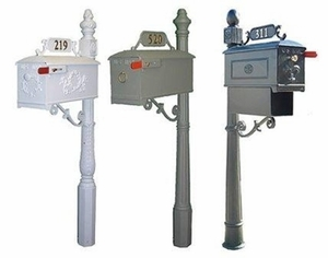 imperial mailboxes primary system - Decorative Mailboxes